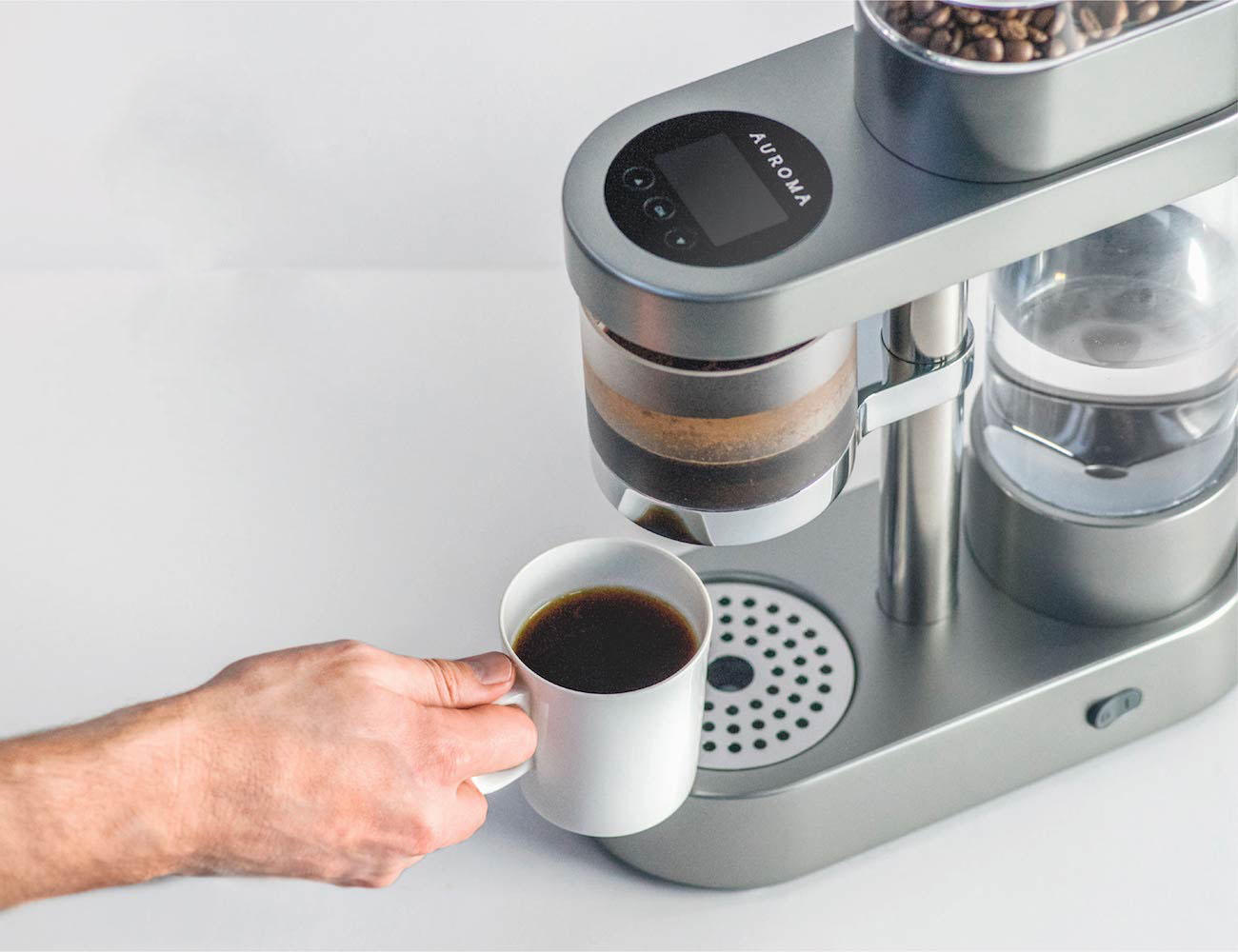 Auroma+One+%26%238211%3B+Brew+World-Class+Coffee+At+A+Push+Of+A+Button