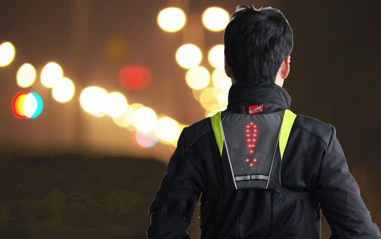 BIKEMAN Activity Vest with LED Indicator