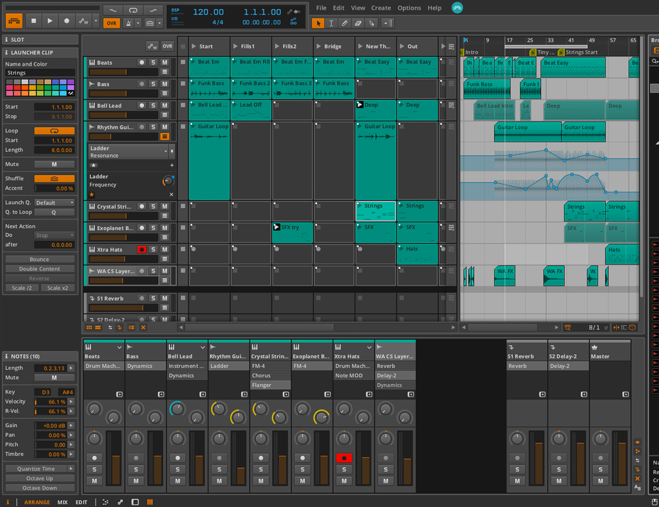 Base II Editor by Livid Instruments