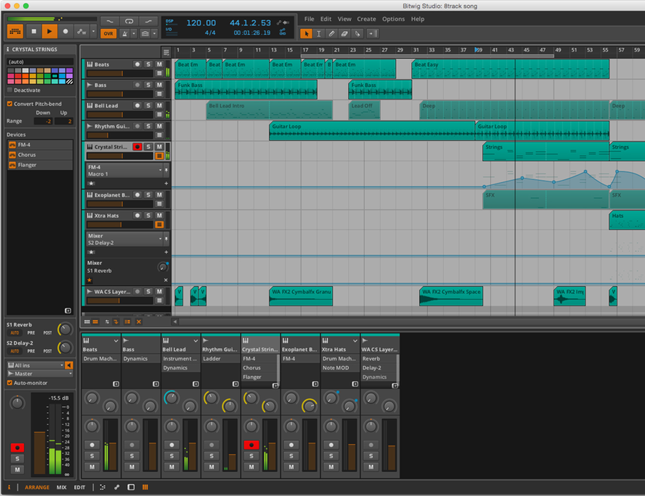 Base II Editor by Livid Instruments