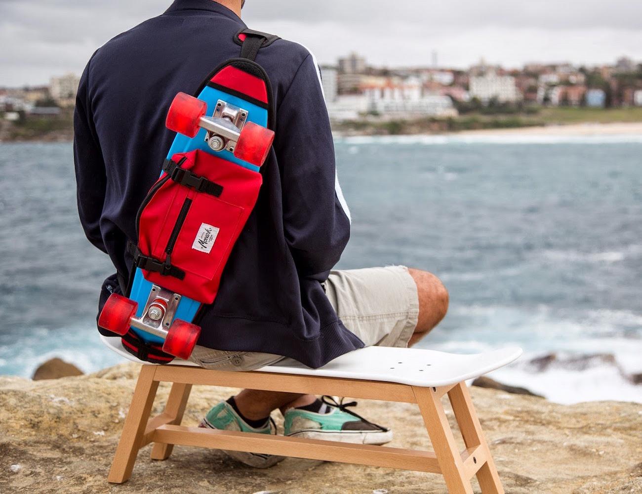 Blue Skate Shoulder Bag by Monark Supply