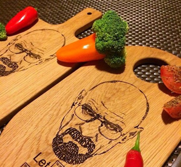 Breaking Bad Engraved Cutting Board