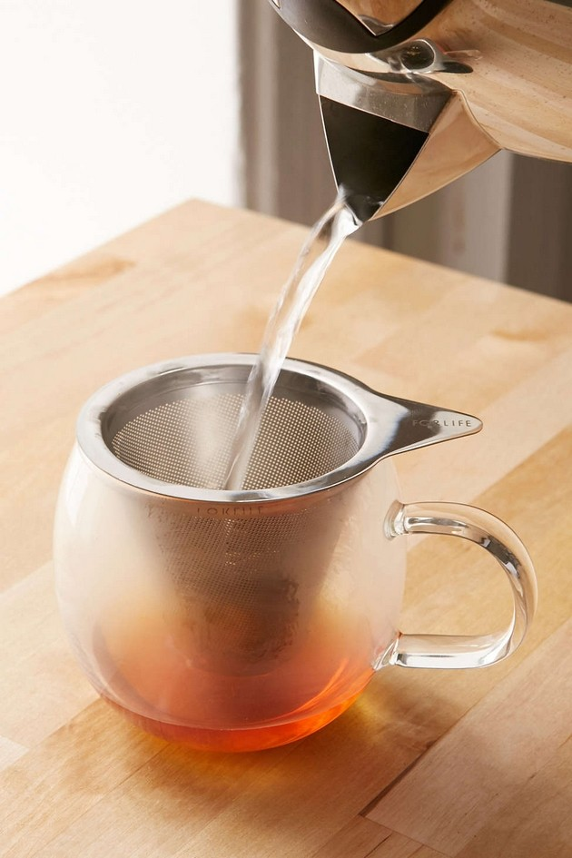 Brew-In-A-Mug Tea Infuser and Mug