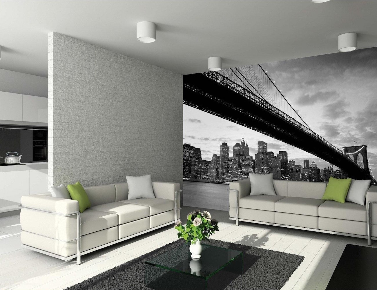 Brooklyn bridge wall mural by 1wall review the gadget flow for Create wall mural