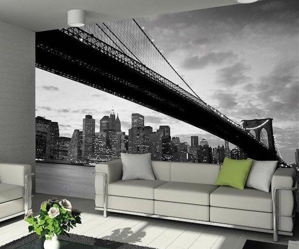 Brooklyn Bridge Wall Mural by 1Wall