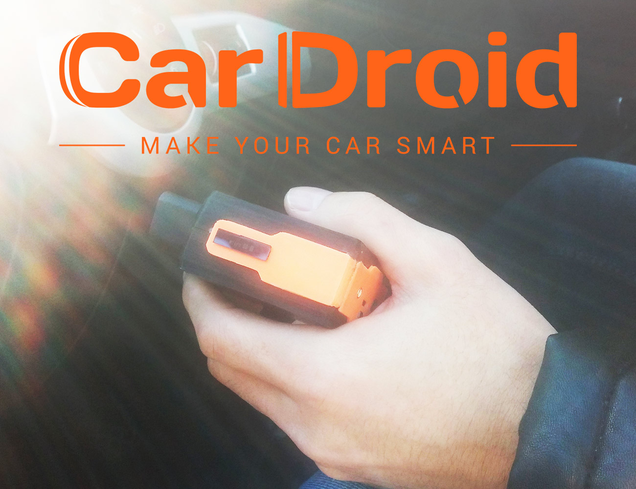 CarDroid – First Android Vehicle Monitoring Device
