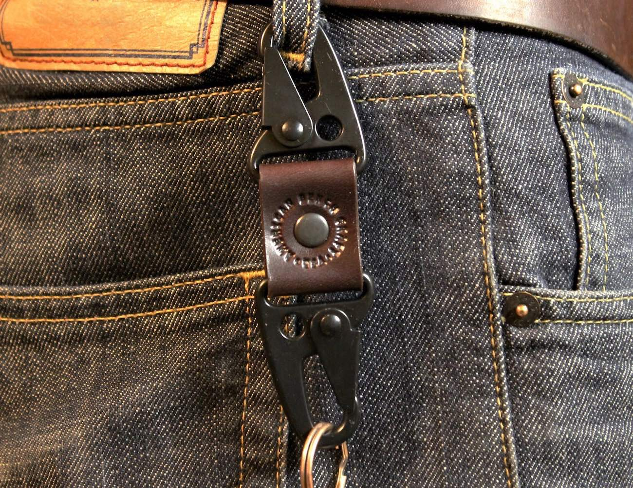Dual Snap Key Fob by American Bench Craft