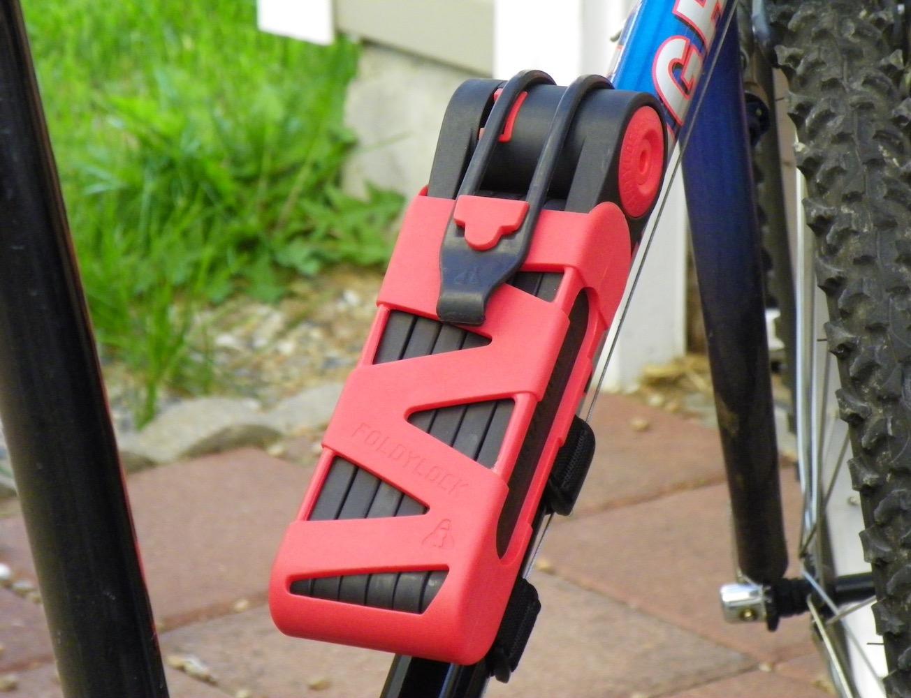 Foldylock – The Folding Bike Lock