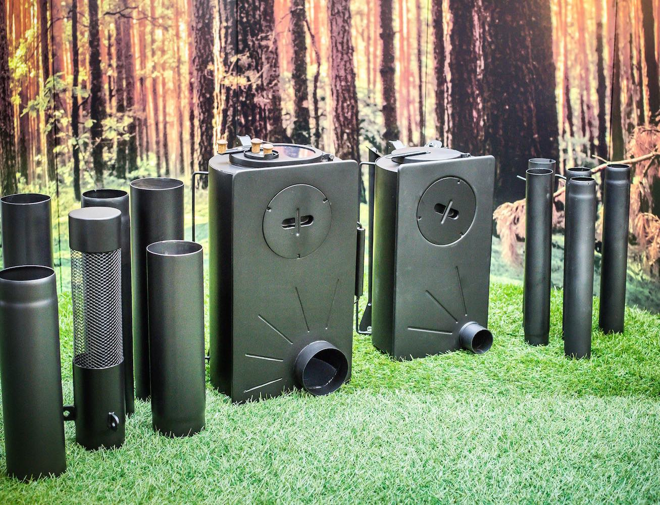 Frontier Plus – The Next Generation Portable Woodburning Stove