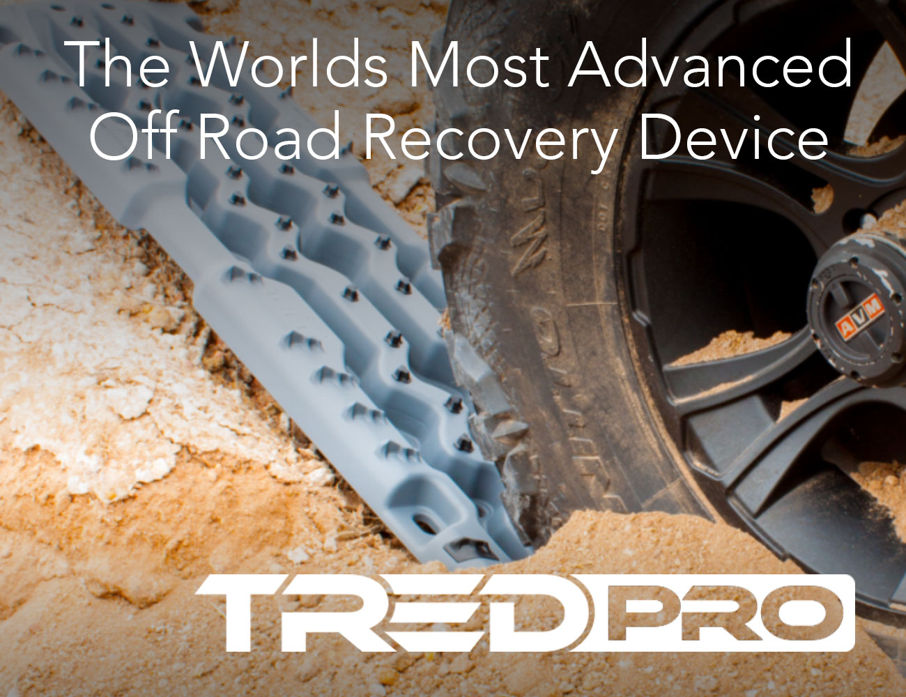 TRED Pro – The World's Most Advanced All-In-One Off-Road Vehicle Recovery Device