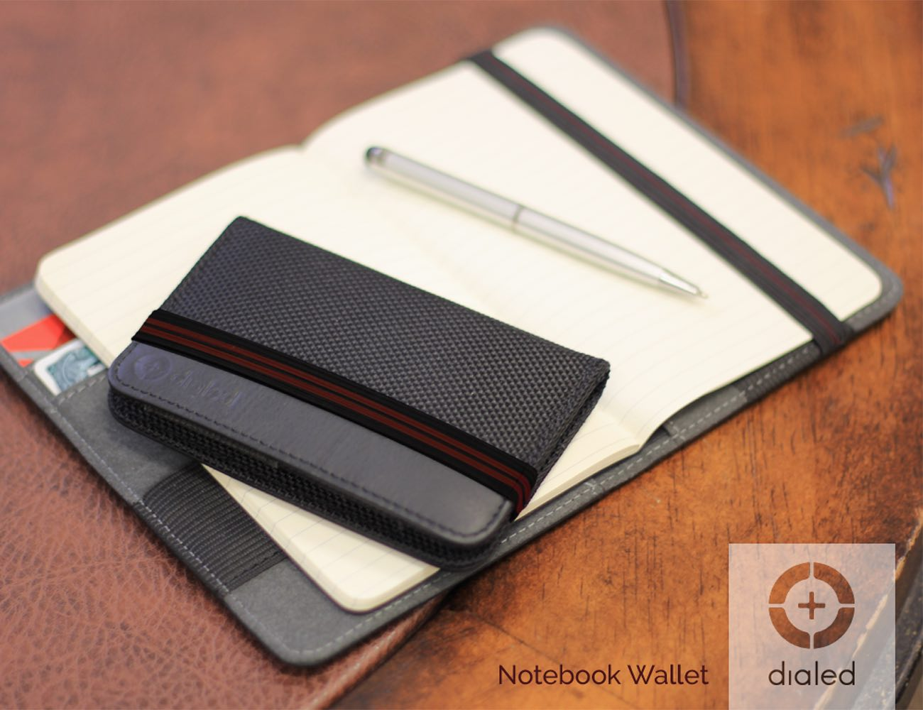 Dialed Notebook Wallet