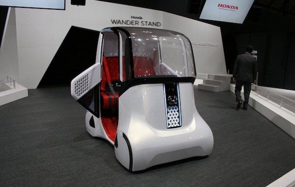 Honda Reveals New Urban Mobility Pods