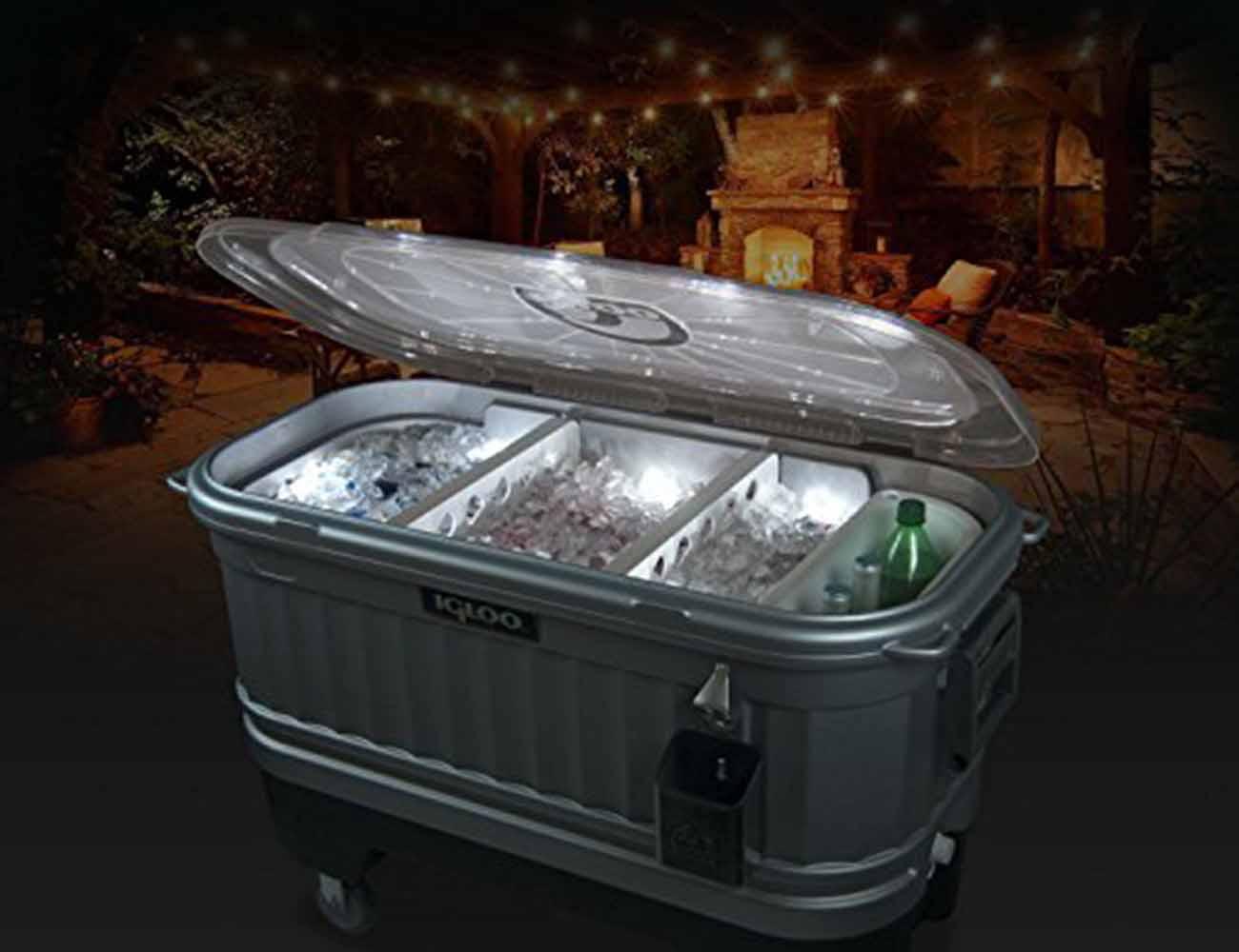 Igloo Party Bar LED Cooler