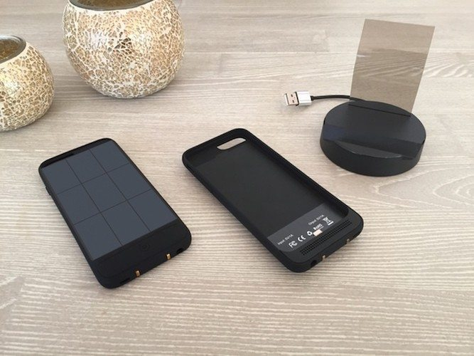 JUS – The Thinnest iPhone Solar Battery Case