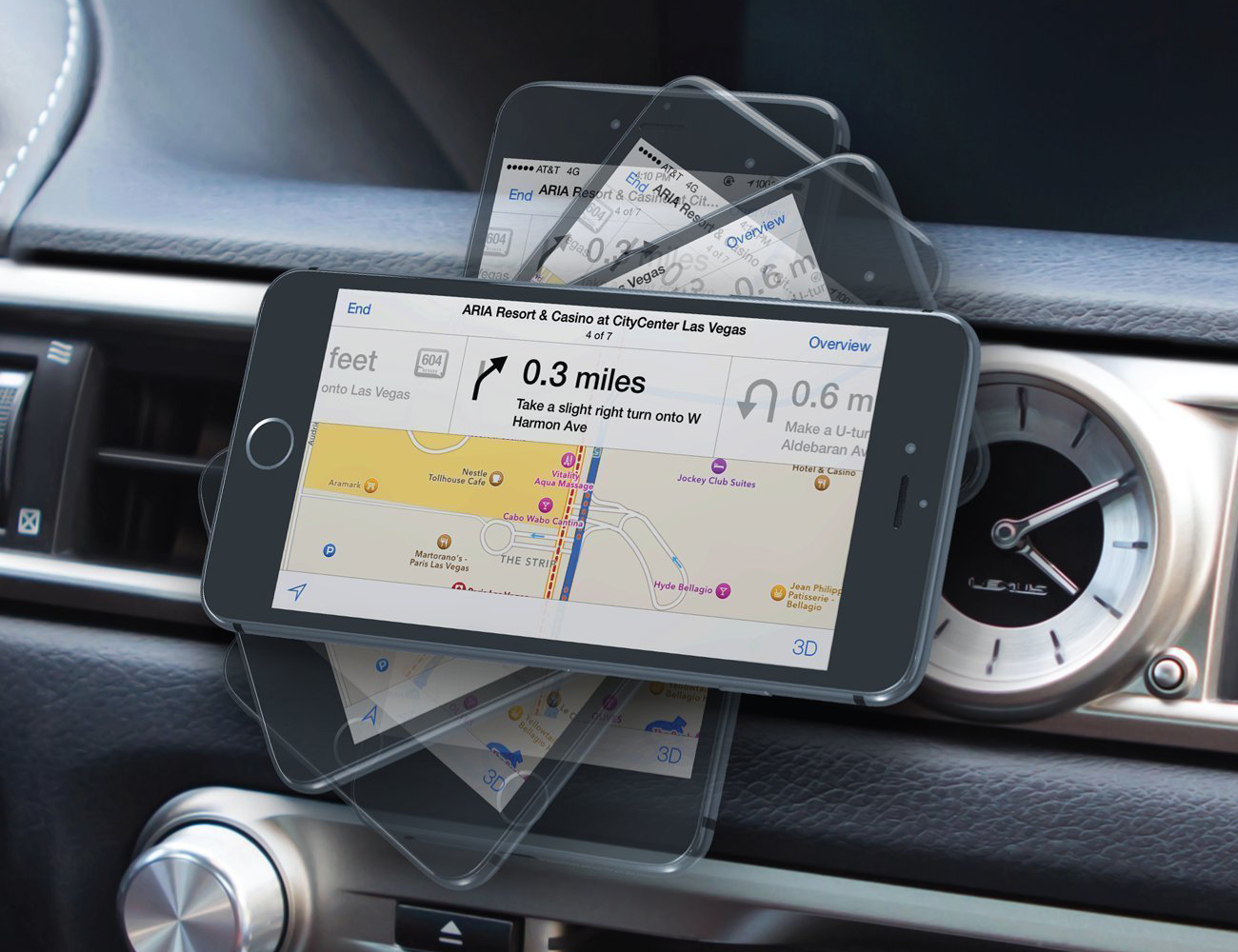 Jebsens CA02 Magnetic Smartphone Car Mount