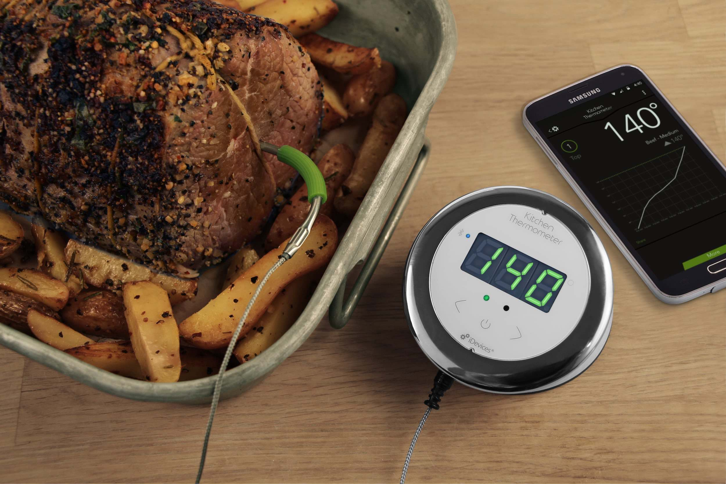 Kitchen Smart Cooking Thermometer by iDevices