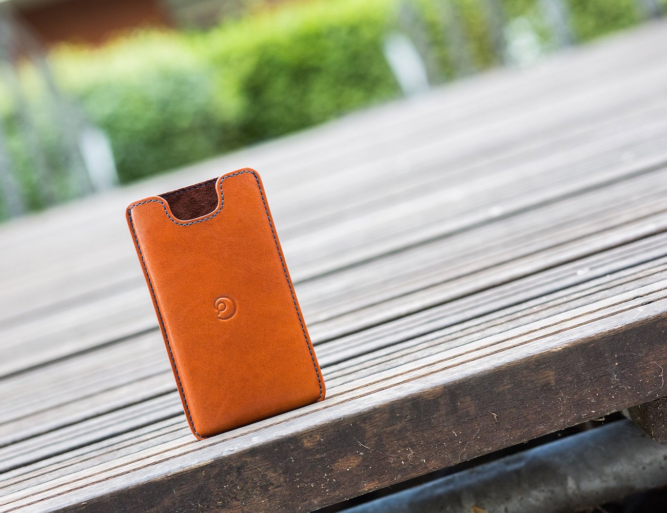 Leather iPhone 5/SE  Case by Danny P.