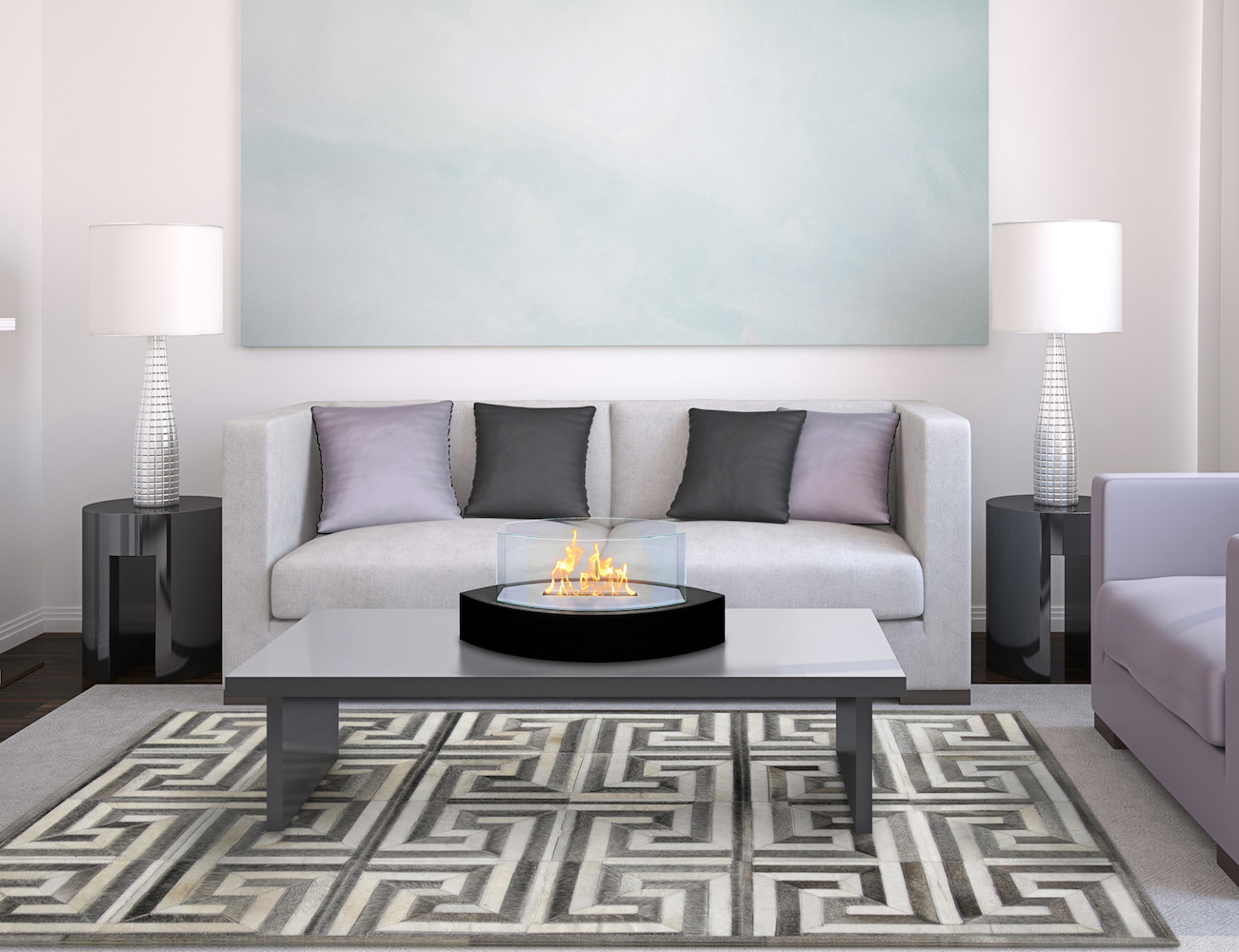Lexington Tabletop Fireplace by Anywhere Fireplace