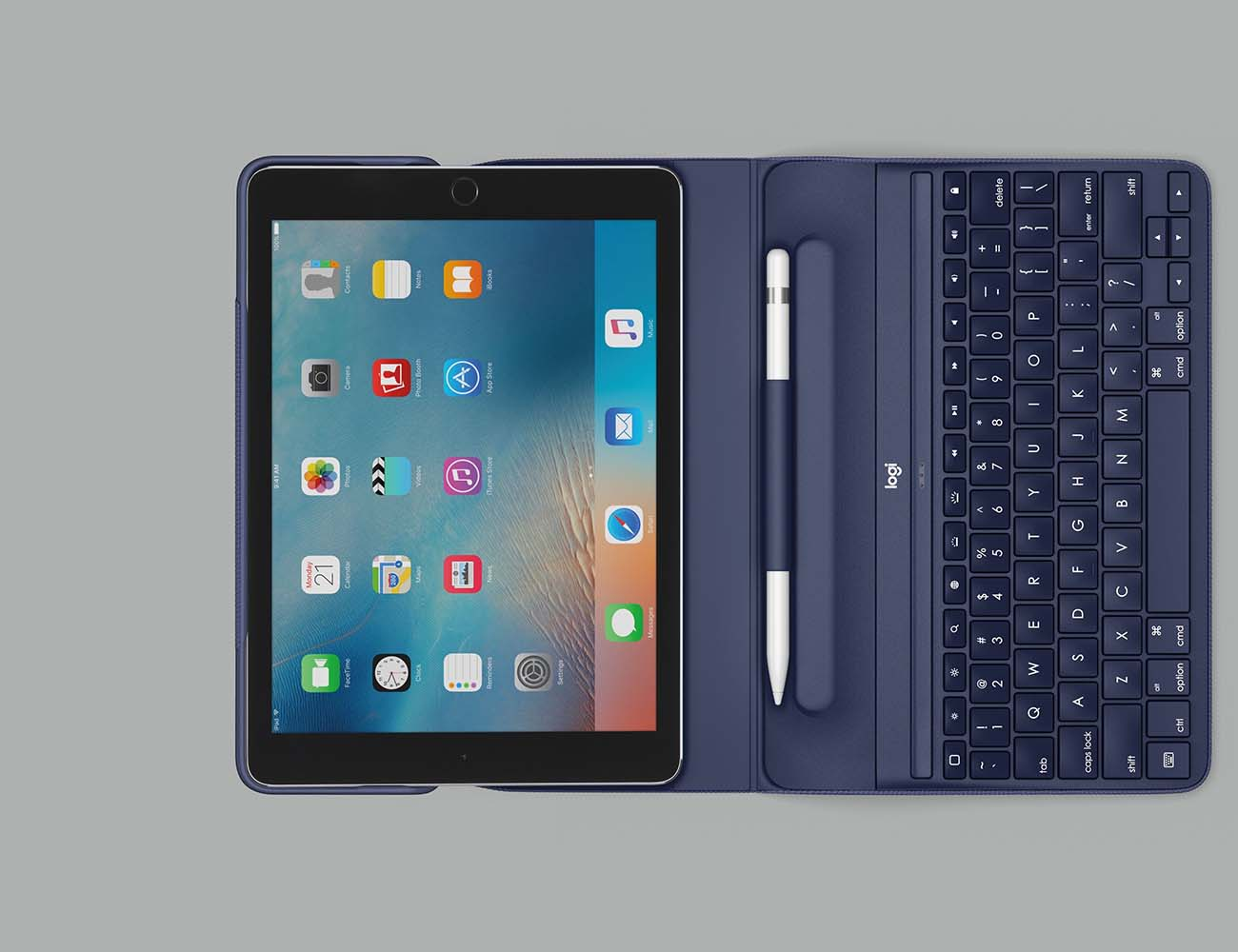 Detachable Removable Wireless Bluetooth ABS Keyboard +PU