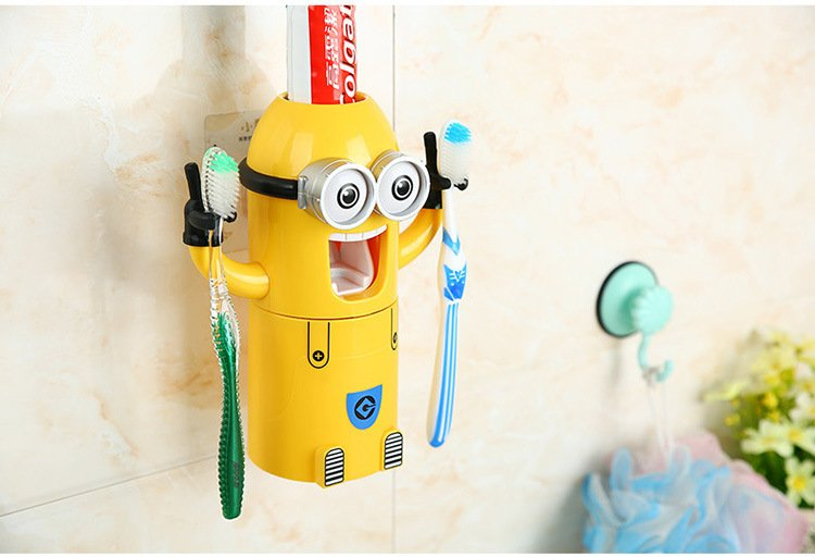 Minions+Automatic+Toothpaste+Dispenser