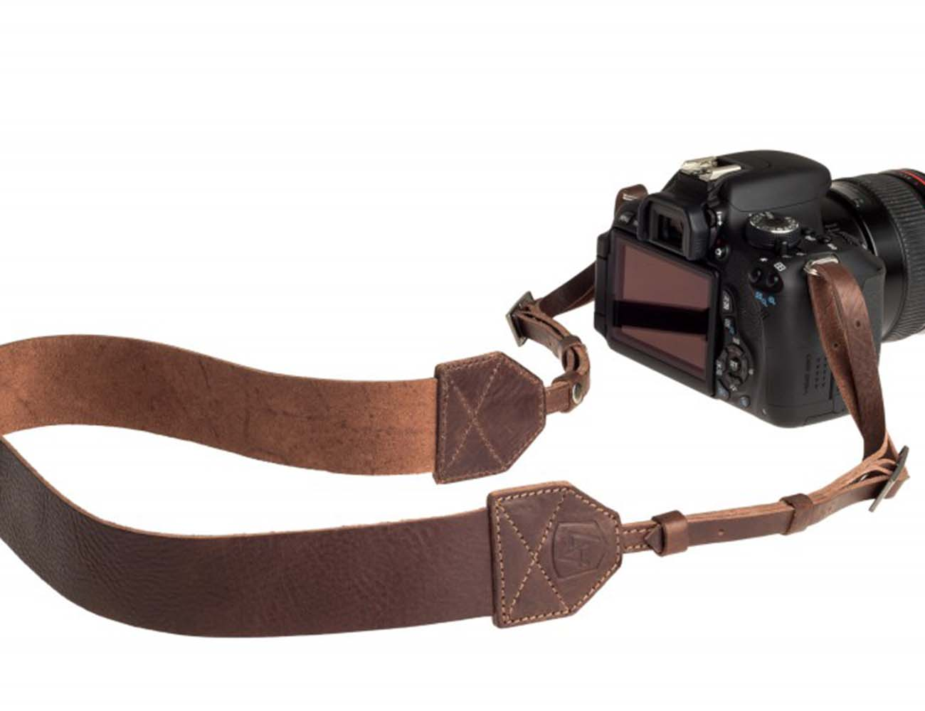 Morgan+Tan+Leather+Camera+Strap+By+A7