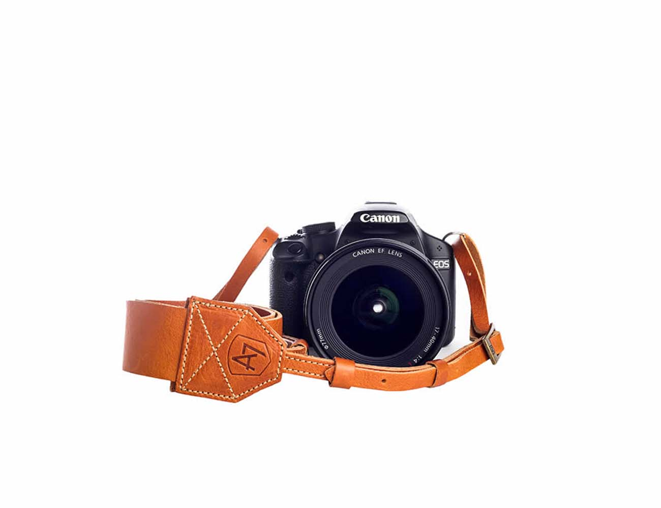 Morgan Tan Leather Camera Strap by A7