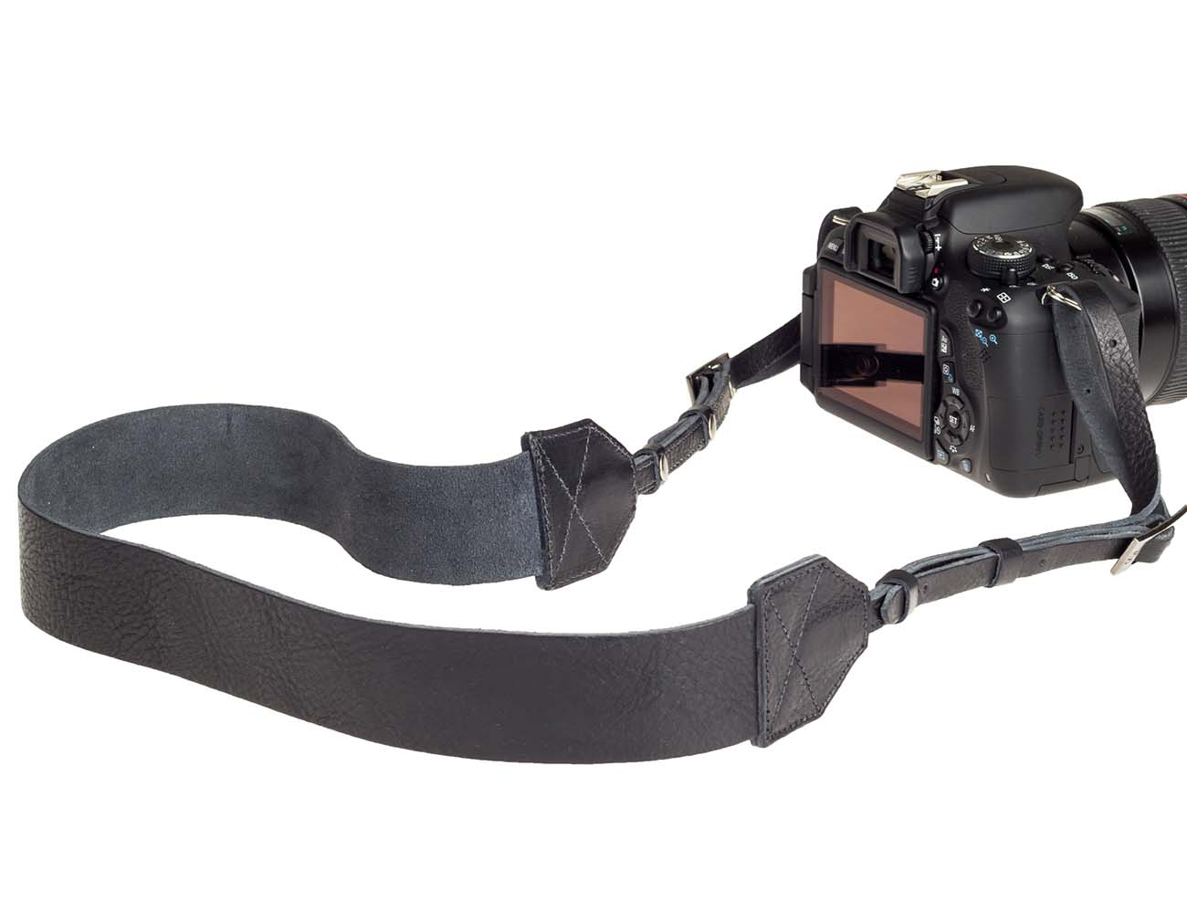 Morgan Tan Leather Camera Strap by A7