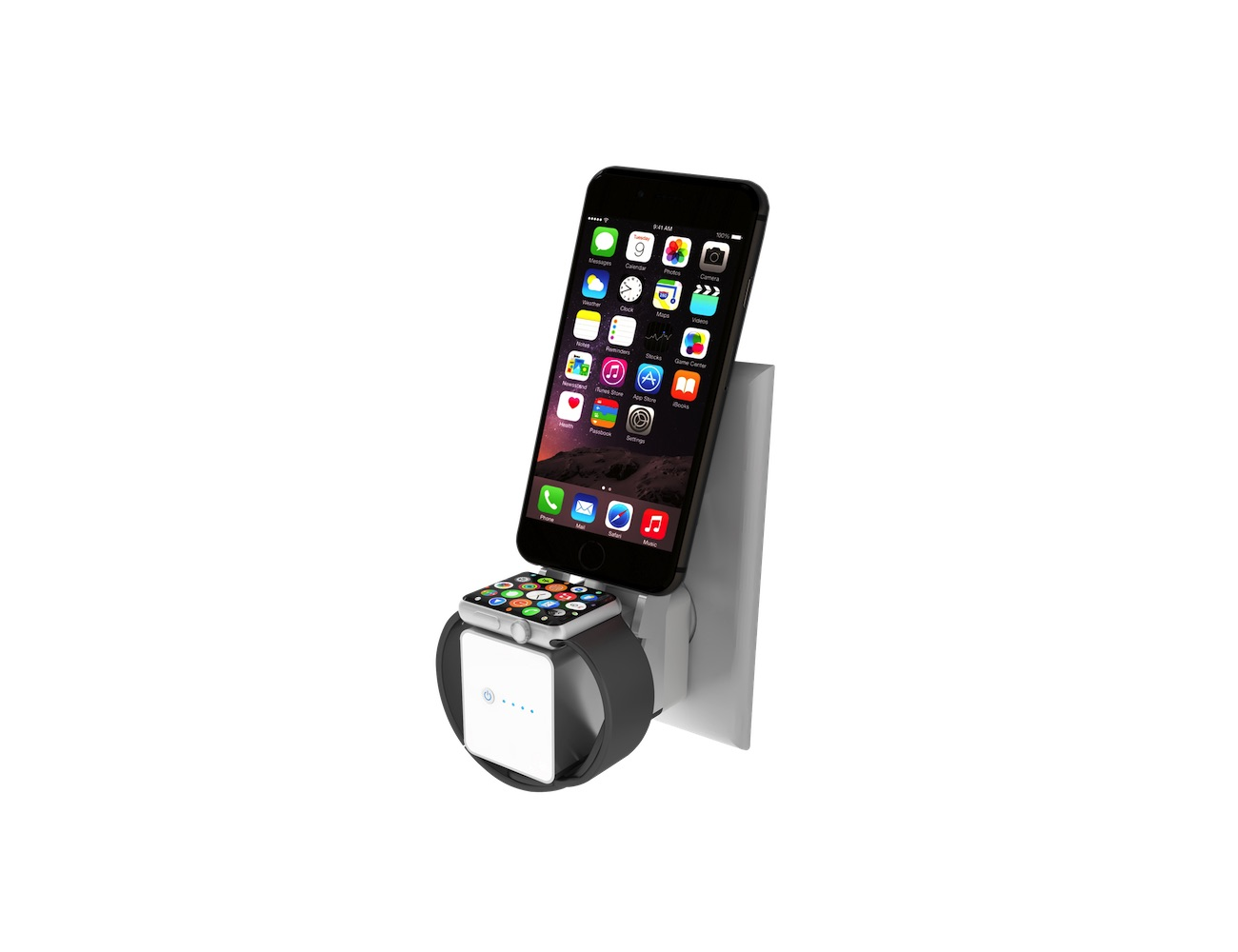 Move! The First Wireless Charger and Power Bank for iPhone and Apple Watch