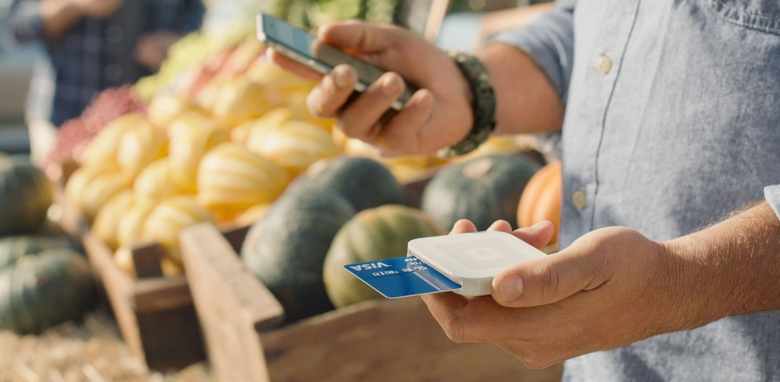 Square Contactless and Chip Reader for Apple Pay