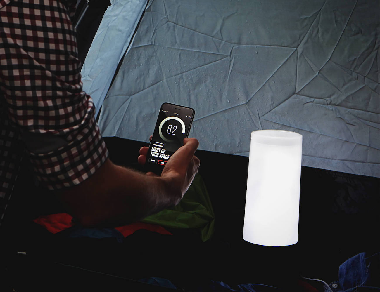 O2Tech Lantern – The World's Smartest Outdoor Lantern