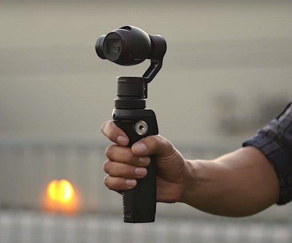 Osmo – The Handheld 4K Camera by DJI
