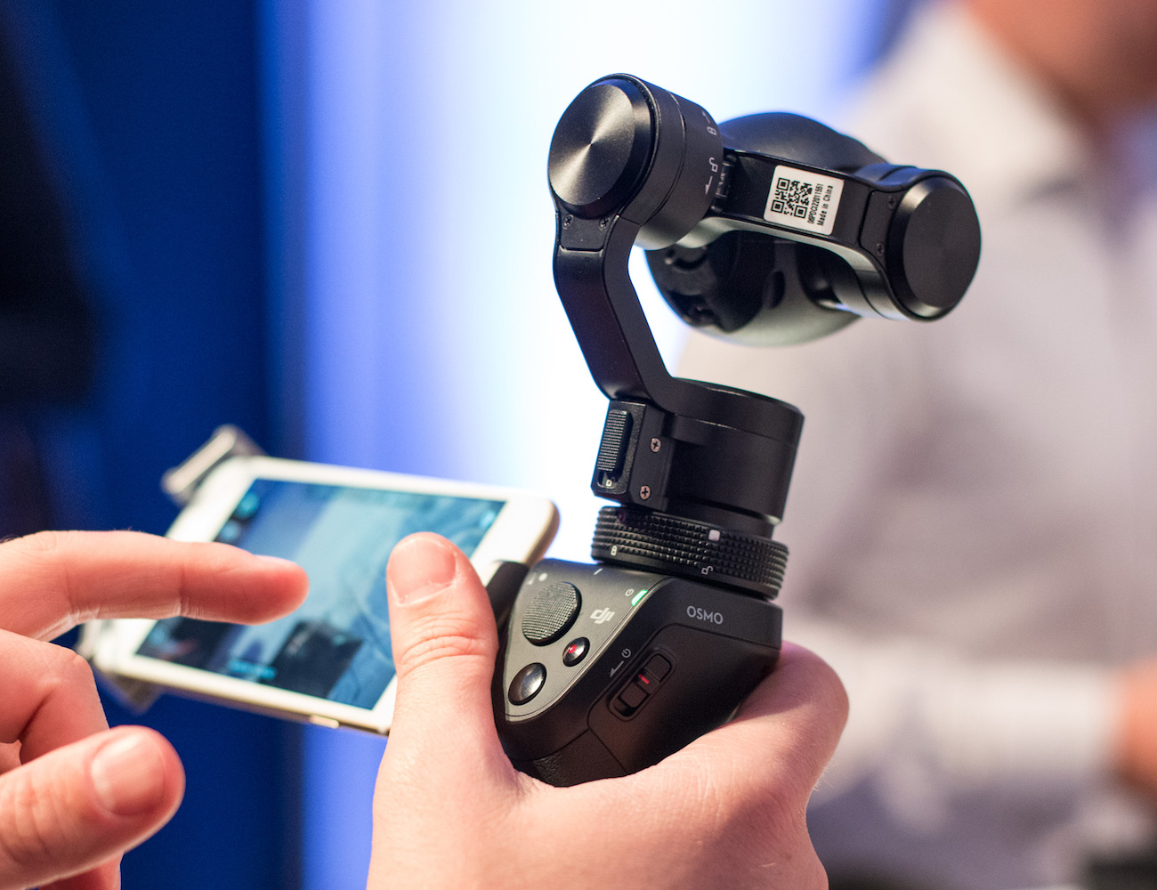 Osmo – The Handheld 4K Camera by DJI