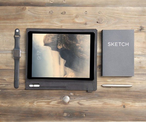 Pad & Pencil – The First Sleeve for iPad Pro and Apple Pencil