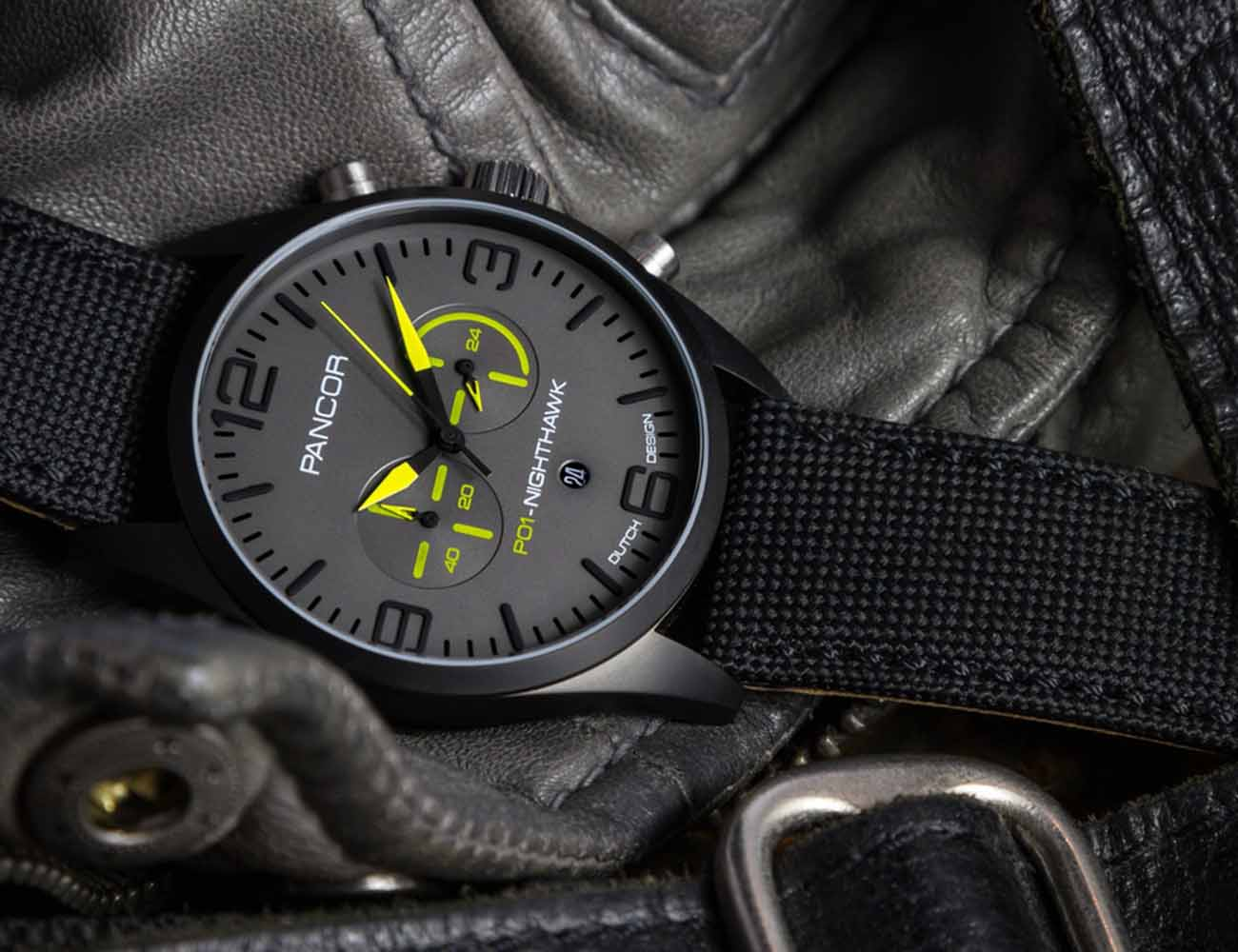 Pancor Watch – Genius Pairing of Functionality and Style