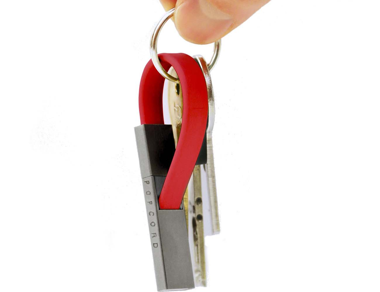Popcord Key Ring Charging Cable