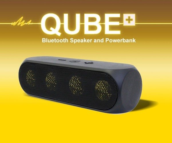QUBE PLUS – The Bluetooth Speaker and Powerbank