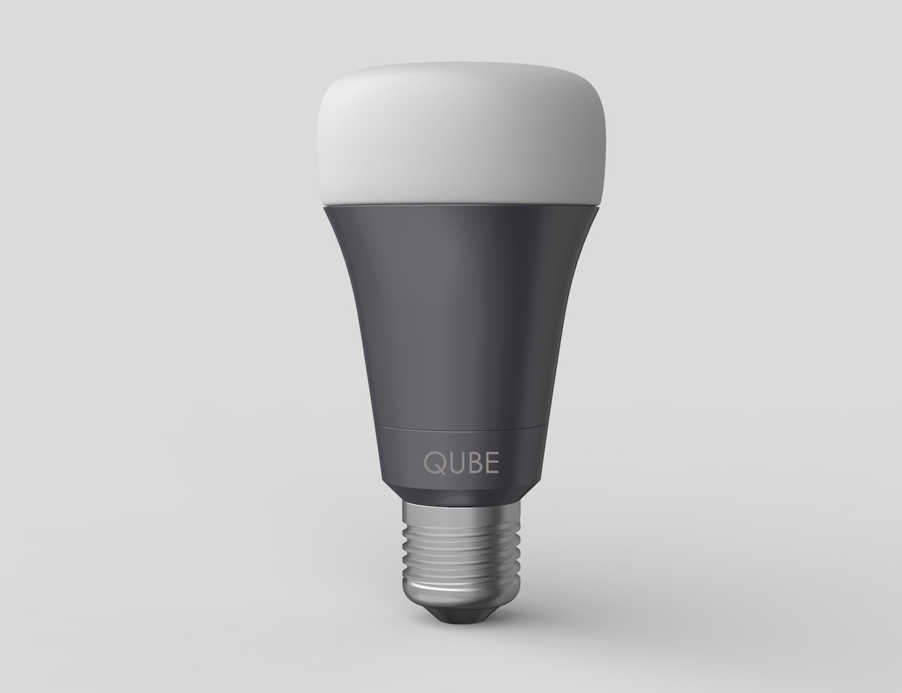 Qube – World's Most Affordable Wi-Fi Enabled, Multi-Color LED Smart Bulb For Your Home