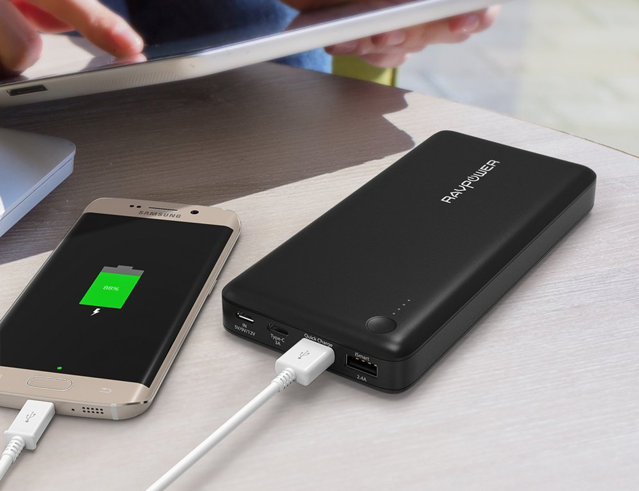 RAVPower Quick Charge Portable Battery Pack