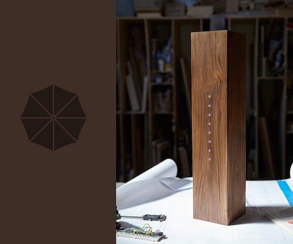 Raincheck – The Weather Reporting Umbrella Stand