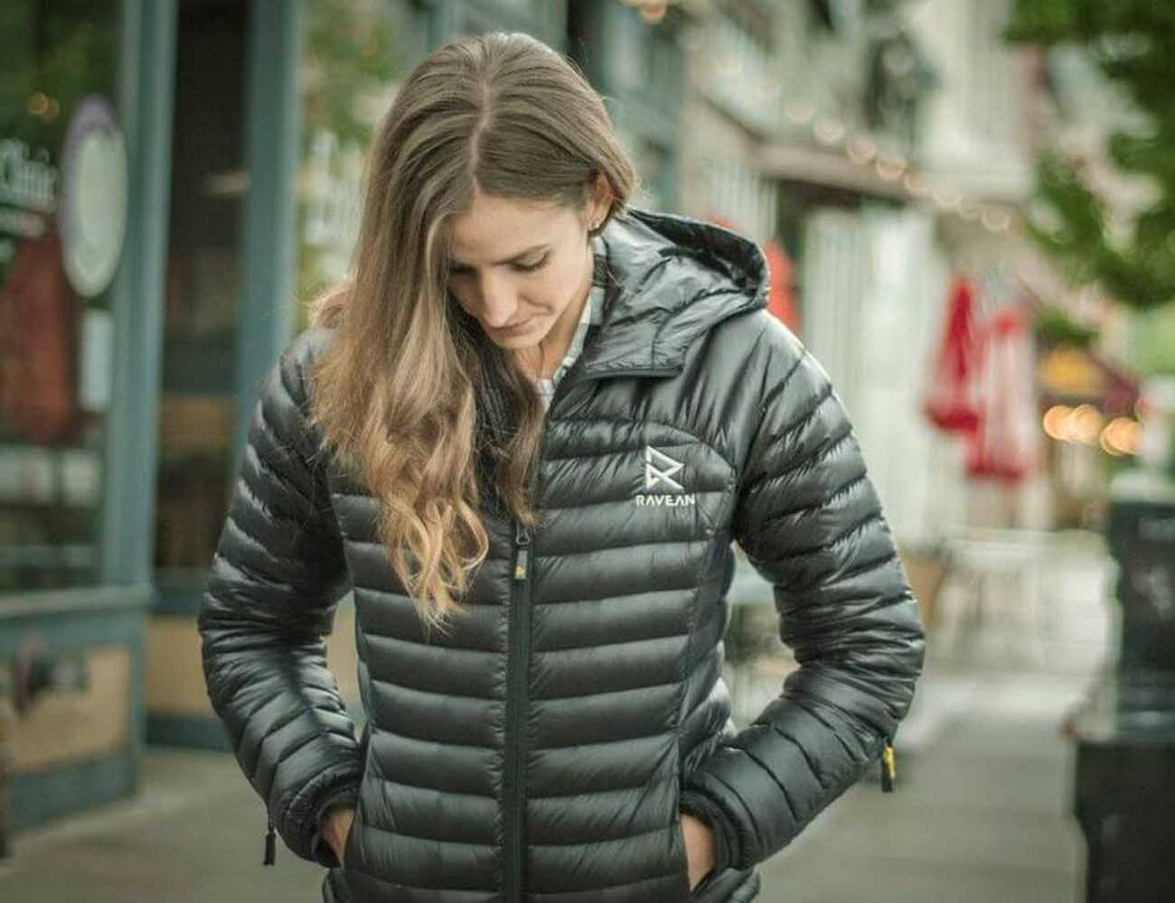 Ravean – The World's First Heated Down Jacket with 6X Charging