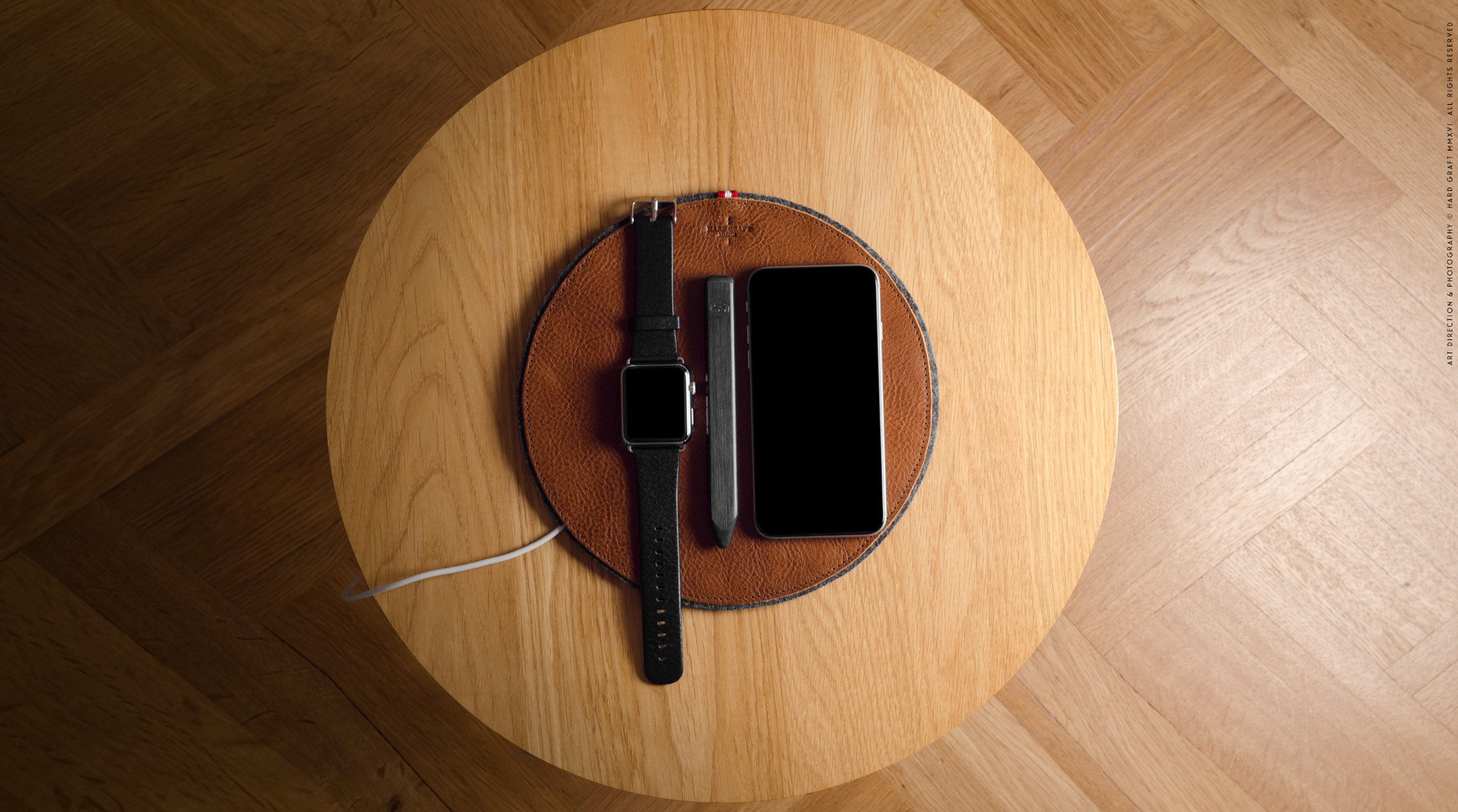Rest Station – Coaster for Your Gadgets by Hard Graft