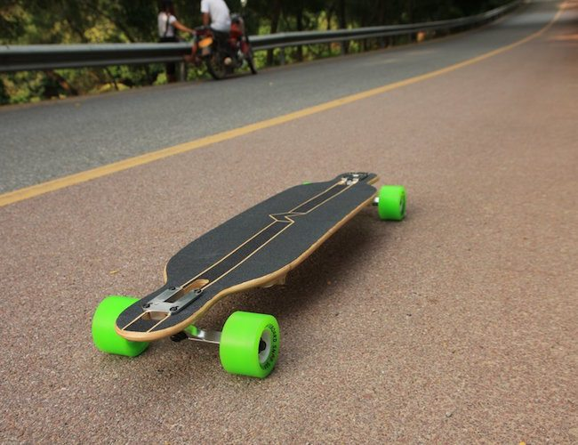 Folding Longboard by snapskateboard.com