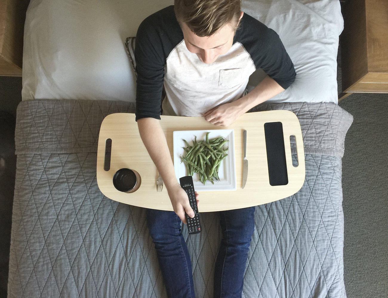 Slice TV Tray by iSkelter