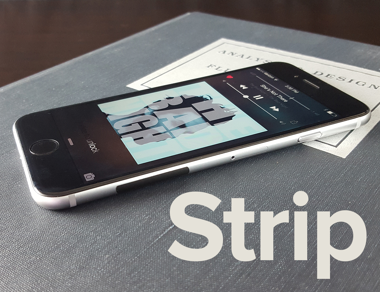 Strip – A Minimalist Solution for Slippery Premium Phones
