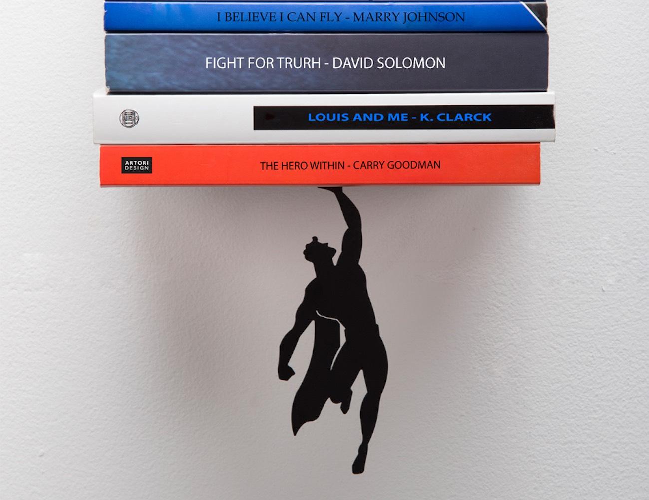 Supershelf – Your Superhero Floating Shelf loading=