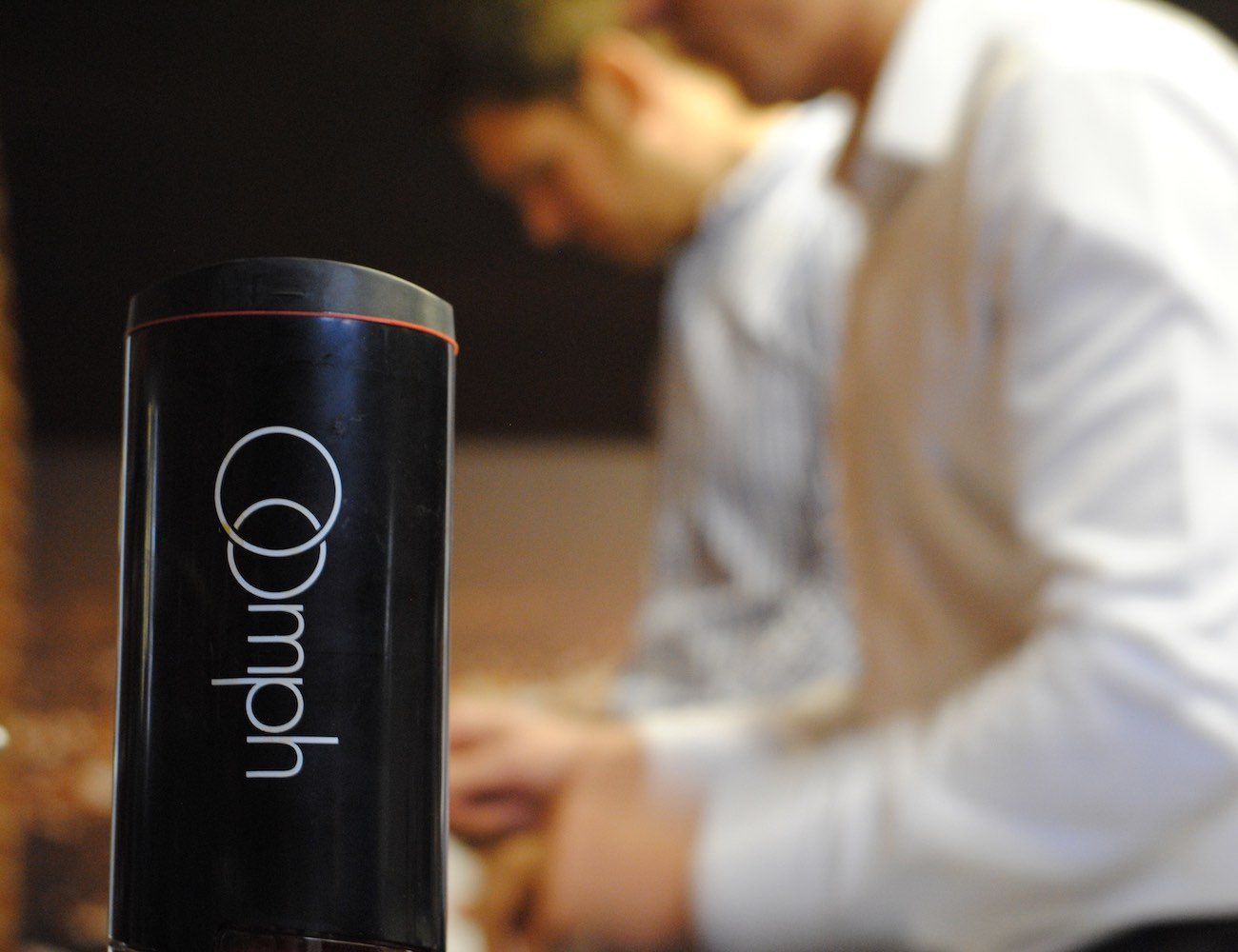The Oomph – Portable Coffee Maker. Perfected