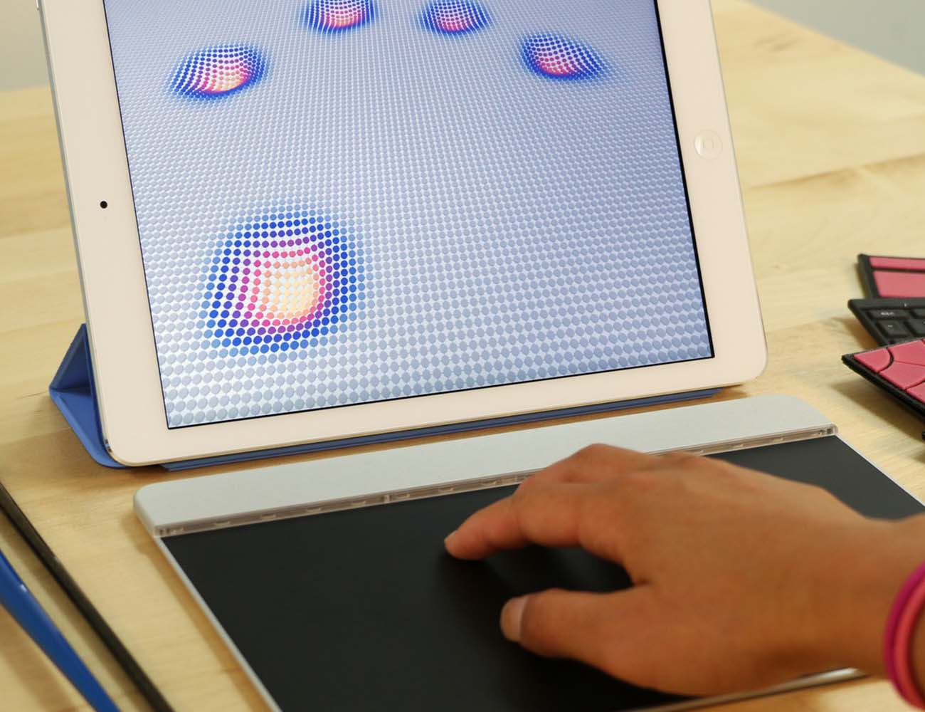 The Sensel Morph – Multi-Touch Interactive Surface
