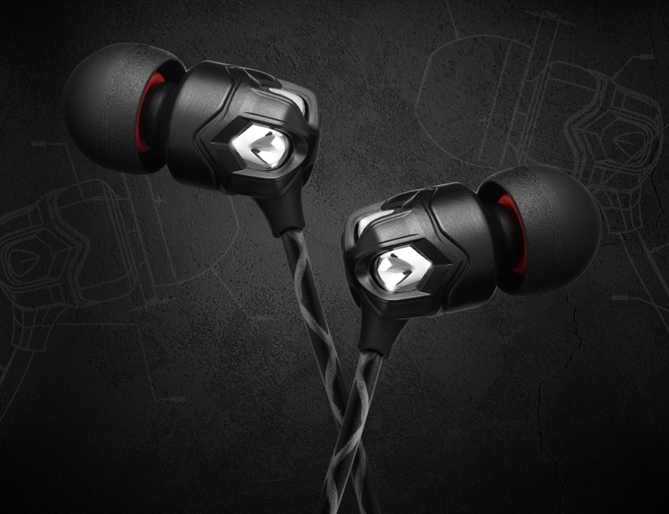 V-MODA Zn – Limited Edition In-Ear Headphones