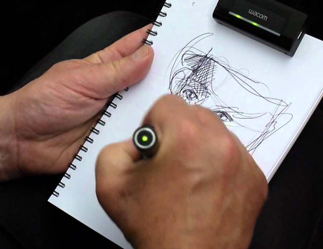 Wacom+Inkling+Digital+Sketch+Pen