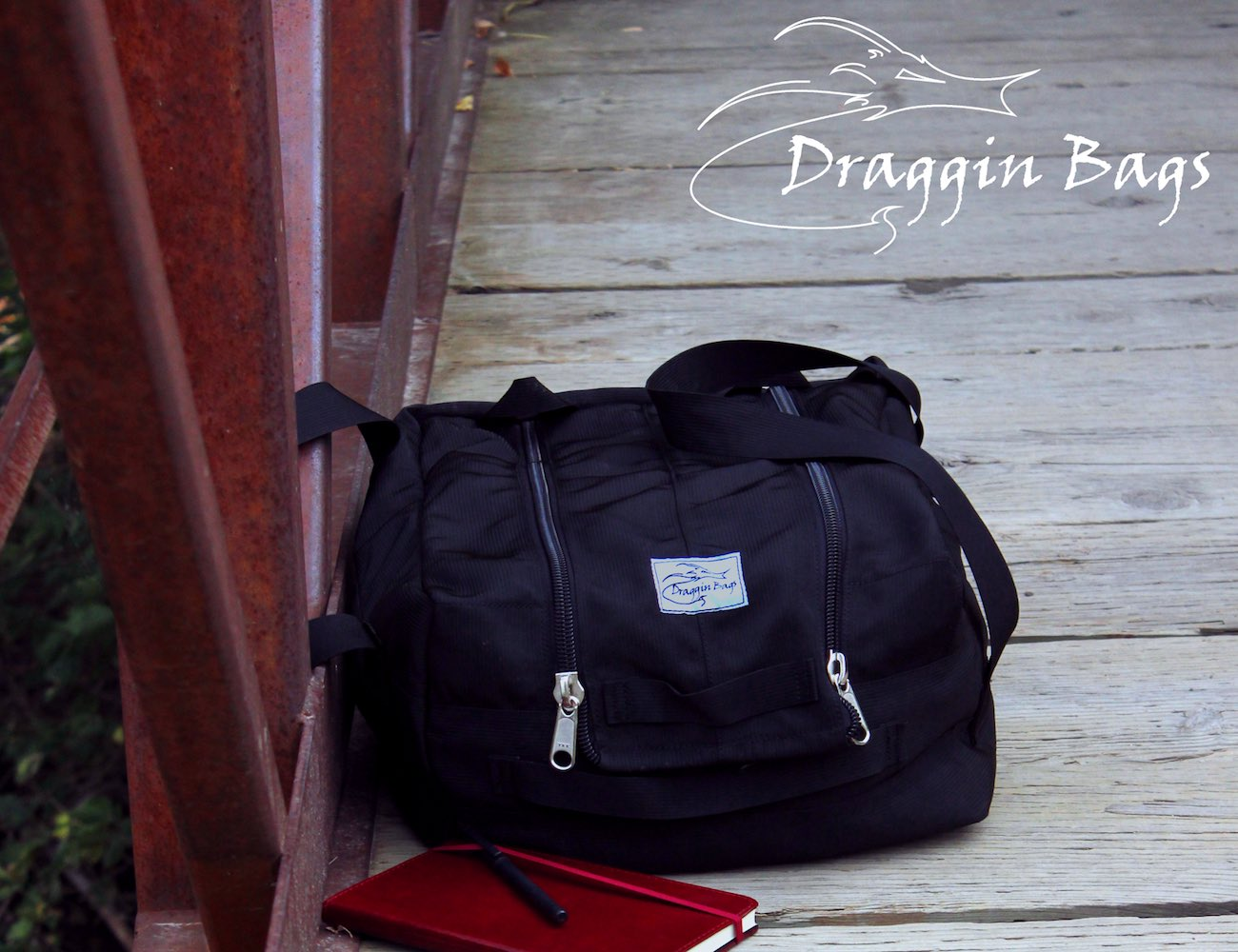 Worlds First and Only Webbing Duffel Bag